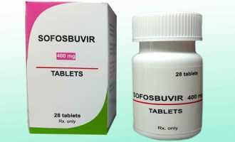 Лекарство Софосбувир для лечения гепатита С