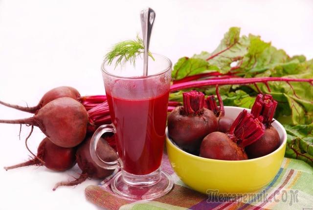 Прием в пищу свеклы и свекольного сока при гепатите С