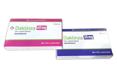 Даклинза при хроническом гепатите С в комплексной терапии