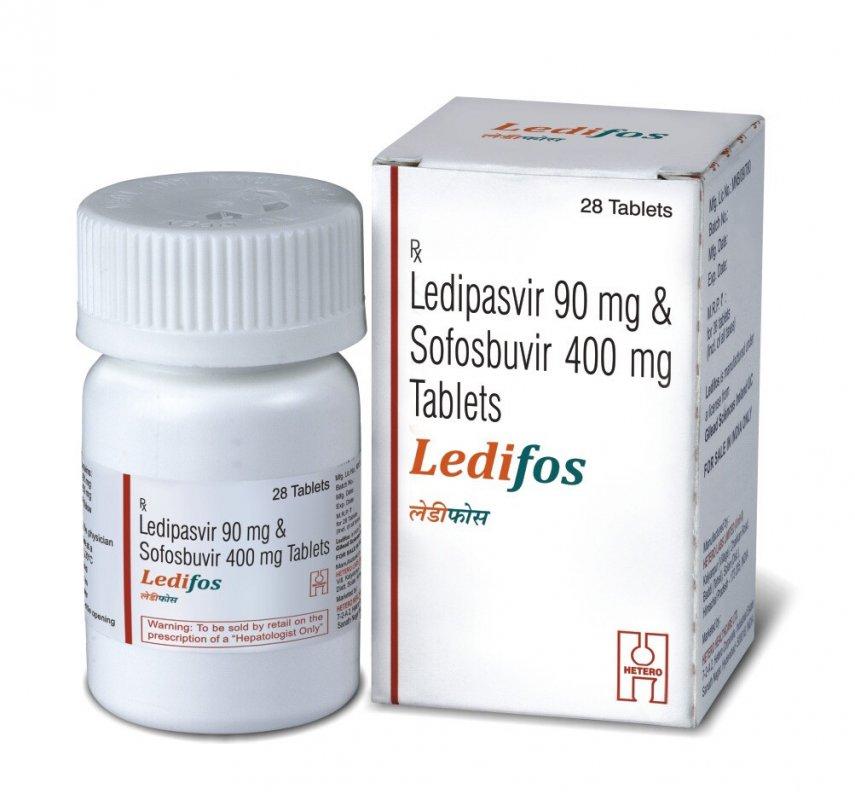 Ledifos — новый виток в лечении гепатита С