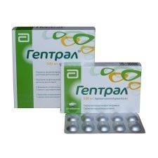 Преимущества использования Гептрала при гепатите С