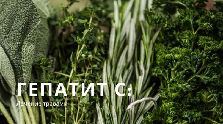 Какие травы можно пить при лечении гепатита С?