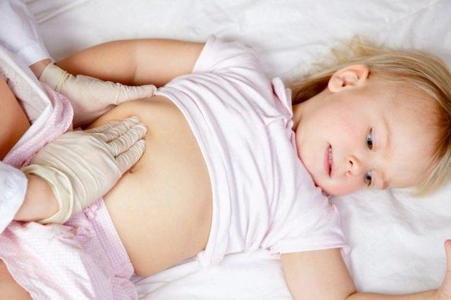 Гепатомегалия у детей