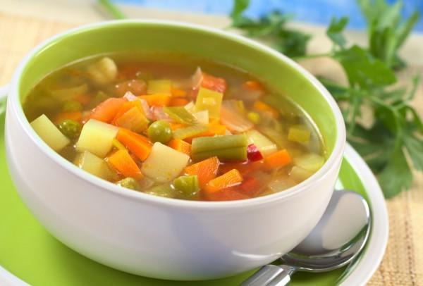 Овощные супы при гепатите С