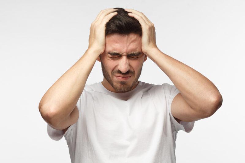 Головные боли у мужчин