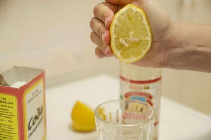 Применение соды и лимона при гепатите