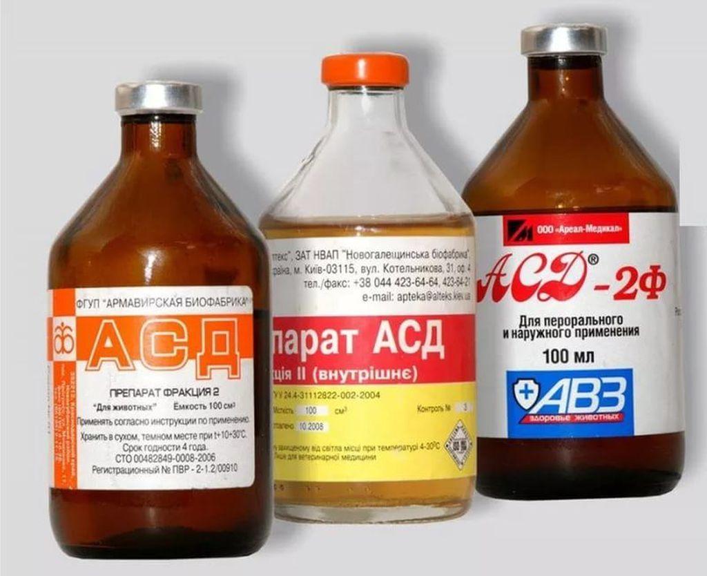 Схема терапии АСД-2