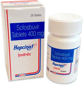 Таблетки Софосбувир