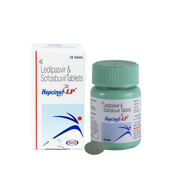 Комплектация Hepcinat LP