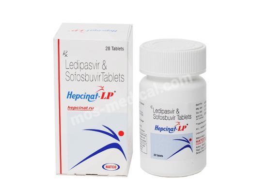 Ледипасвир и Софосбувир в таблетках