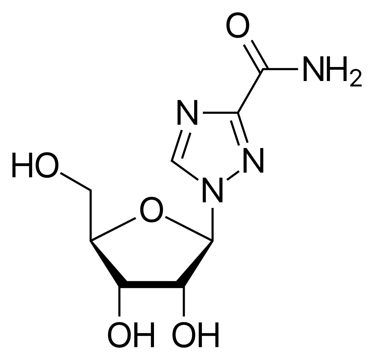 Формула рибавирина