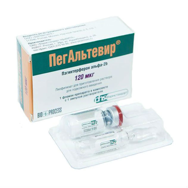 Монотерапия препаратом ПегАльтевир