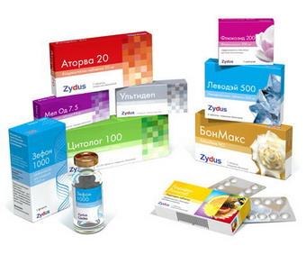 Коробки препаратов