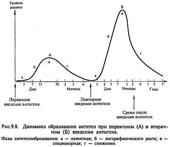Динамика антигенов