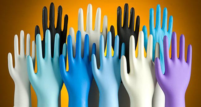 Виды медицинских перчаток